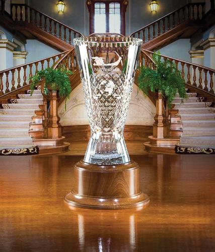 Majestic Crystal Glenesk Vase