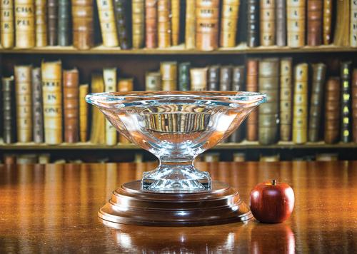 DSC_7015 Etna Bowl & Coaster Side on books
