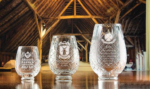 Majestic Crystal Trophy Vases 3 size