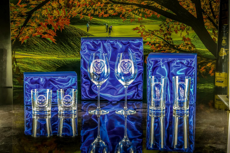 Majestic Crystal 2019 Boxed sets of L-R Toscana Tumblers, Lydia Goblets, Toscana Hiballs
