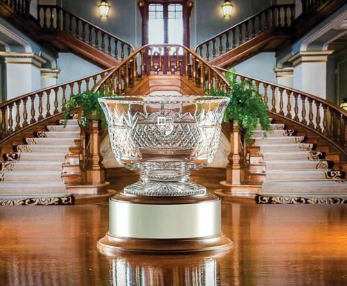 Majestic Crystal Venice Bowl on base