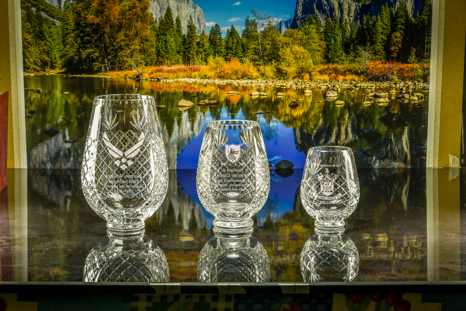 Majestic Crystal 2019 Brochure photos Small Medium Large Trophy Vase-3564