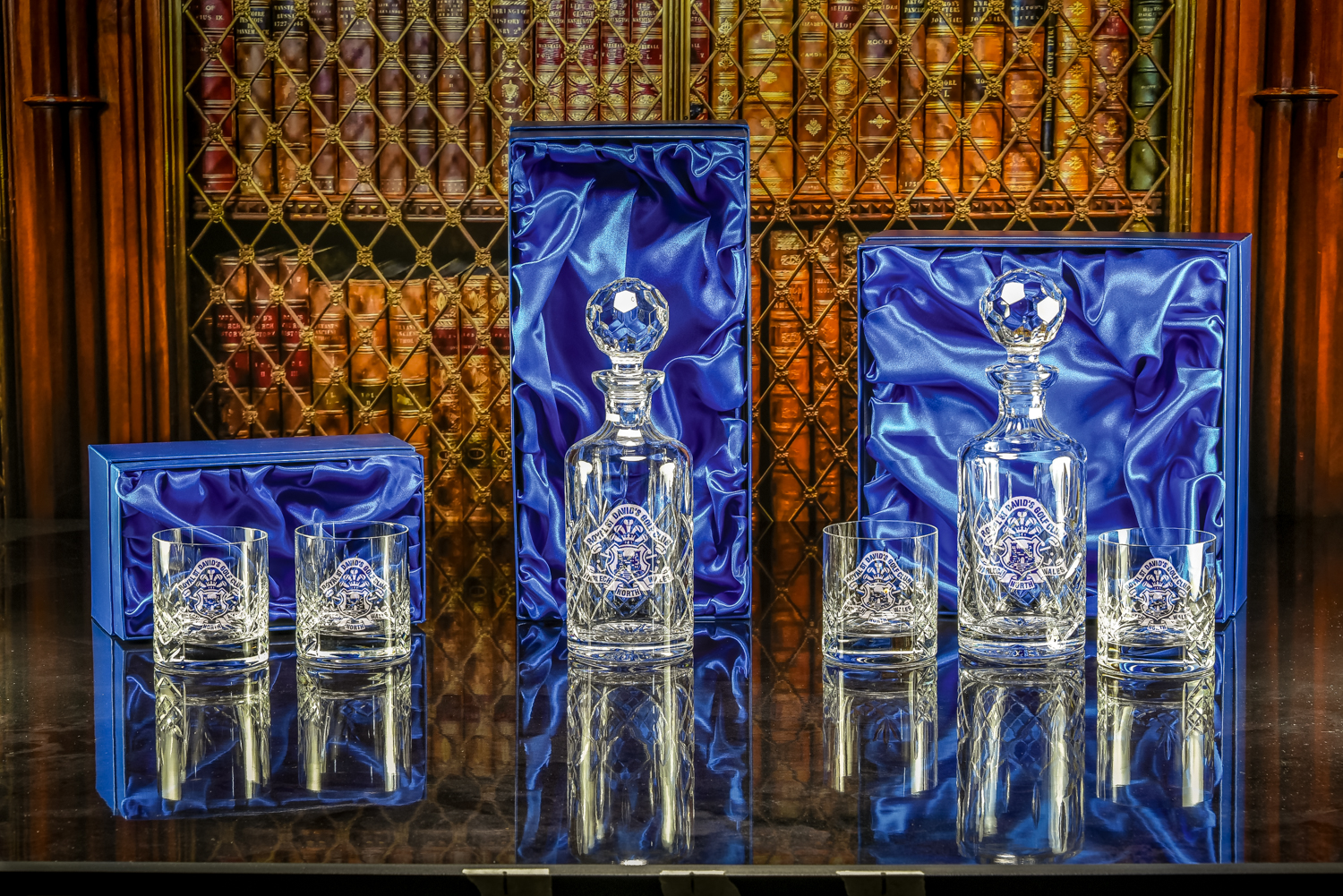 Majestic Crystal 2019 - Boxed 3rd, 2nd & 1st  Burleigh theme.