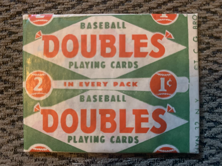 1951 Topps Baseball Wax Pack Unopened Red Back 1 Cent
