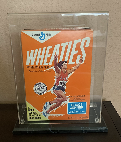 1976 Bruce Jenner Wheaties Box Original Mint