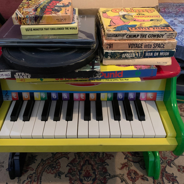 Haunted Doll Toy Piano