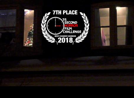"Mike Trebilcock's ""SHORTBREAD"" Top 10 in the 2018 15-Second Horror Film Challenge"