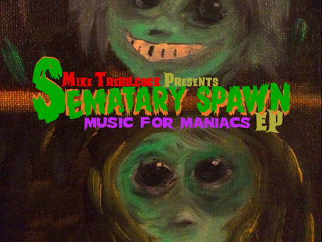 Sematary Spawn's Music For Maniacs Vol. 2 reviewed at The Deadhouse!