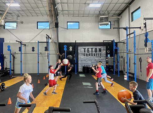 Teton CrossFit Kids