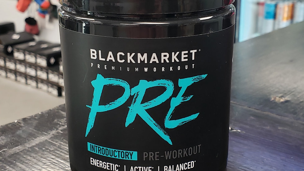 BlackMarket Introductory Pre Workout