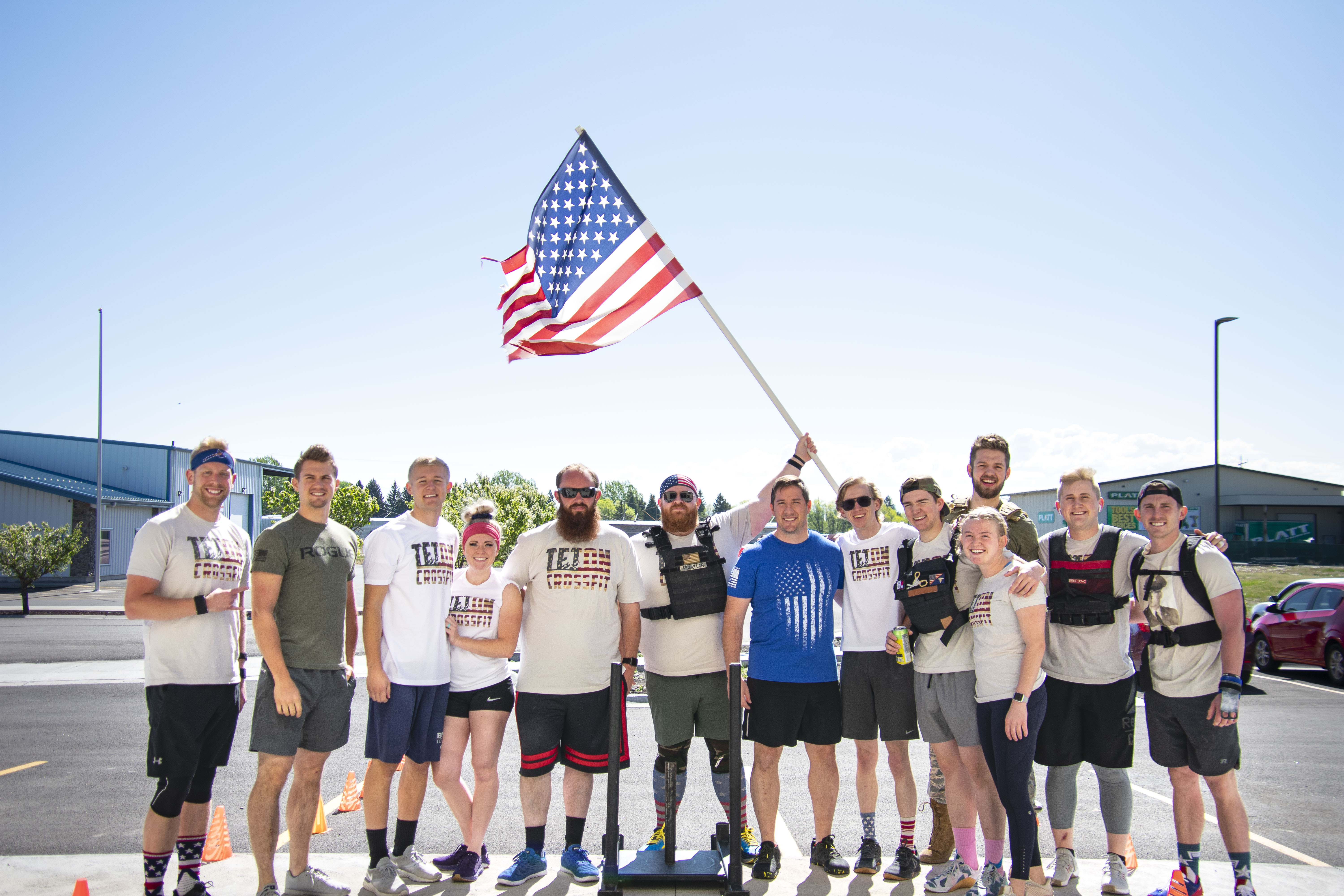 Teton CrossFit Memorial Day Murph Workout