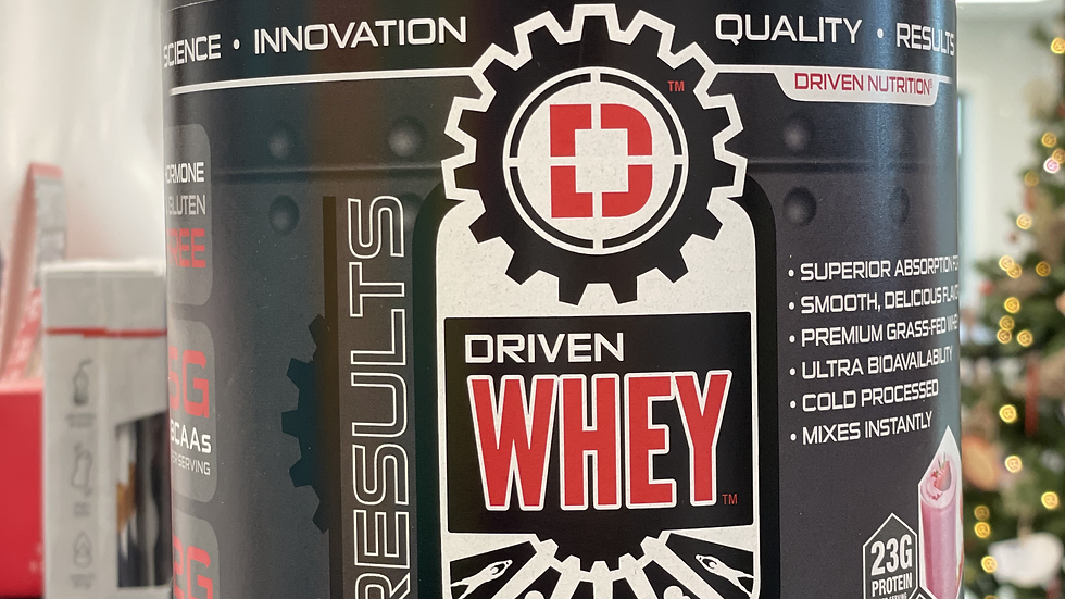 Driven Nutrition Whey Protein