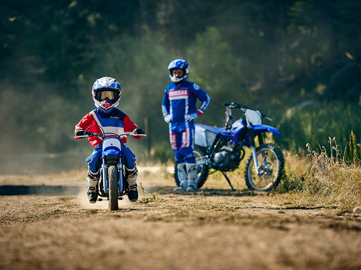 Riding Dirtbikes Young & Old
