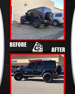 soundz good stereo jeep wheels lift befo