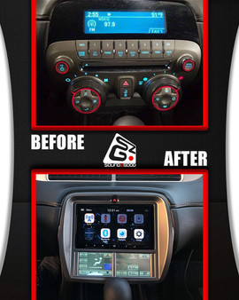 soundz good stereo indash before after.j