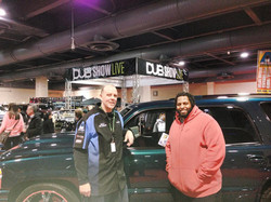 Marc_and_NFL_Player_Mike_Philly_Auto_Sho