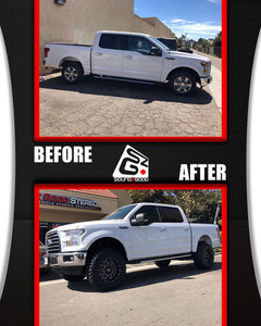 soundz good stereo lifted ford f150 befo