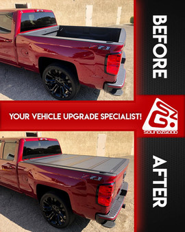 soundz good stereo chevy truck bed cover