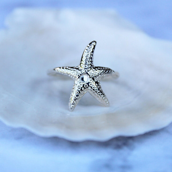 STAR RING || silver 925