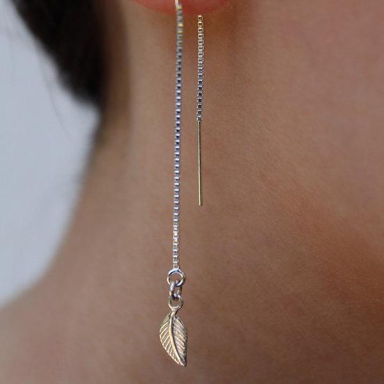 ELLE EARRINGS || silver 925