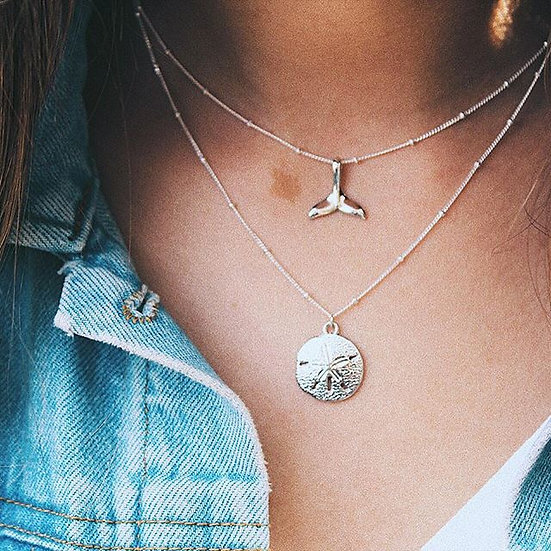 SHELLY NECKLACE || silver 925