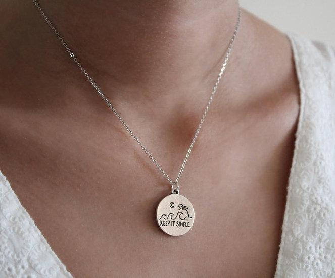 MAYA NECKLACE || silver 925