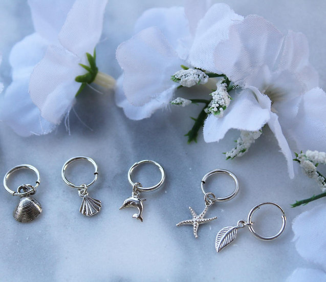 ARIA EARRINGS || silver 925