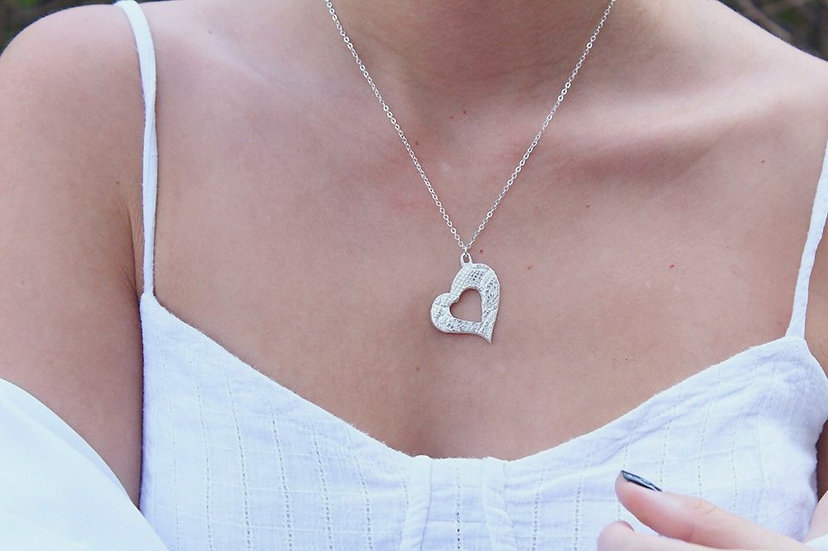 SOFIA NECKLACE || pure silver