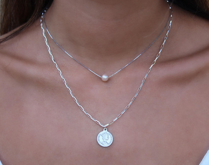 SIARGAO NECKLACE || silver 925