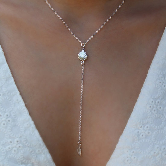 LIA NECKLACE || silver 925