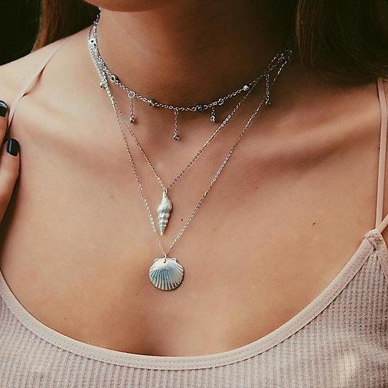 MALIBU NECKLACE || pure silver