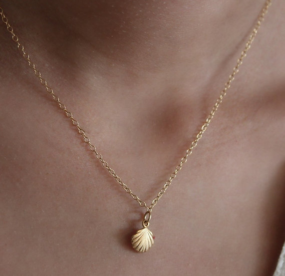 NAOMI NECKLACE || gold filled