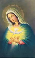 MARY INVITES US TO OPEN THE DOOR OF OUR HEART
