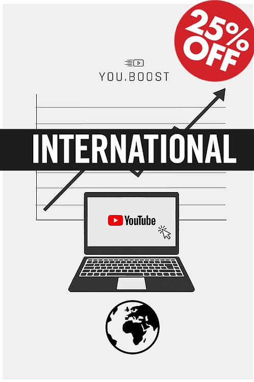 YouTube View's - International | 10k View's