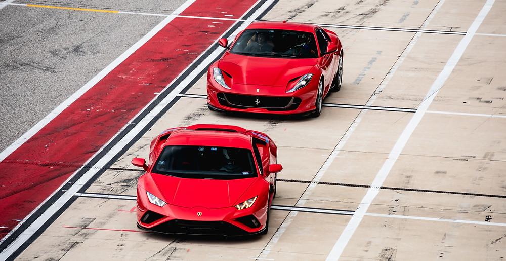 YouTube Anzagebild   Ferrari Lamborghini   Youboost