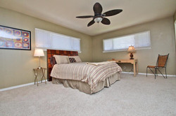 Large, attractive second-bedroom