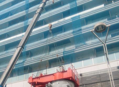 タワークレーン解体工事完了