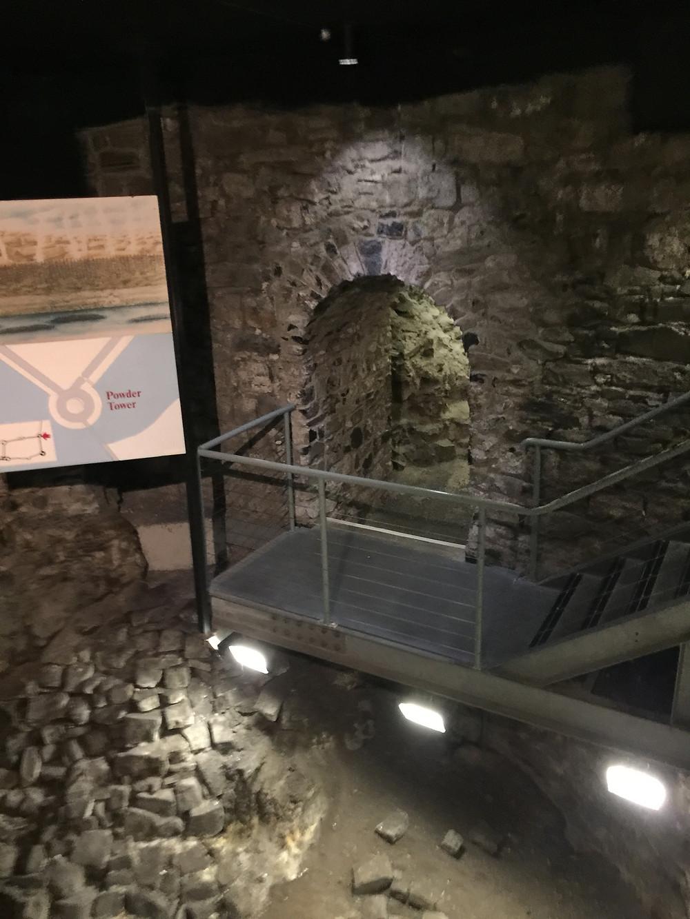 Dublin Castle Below Ground