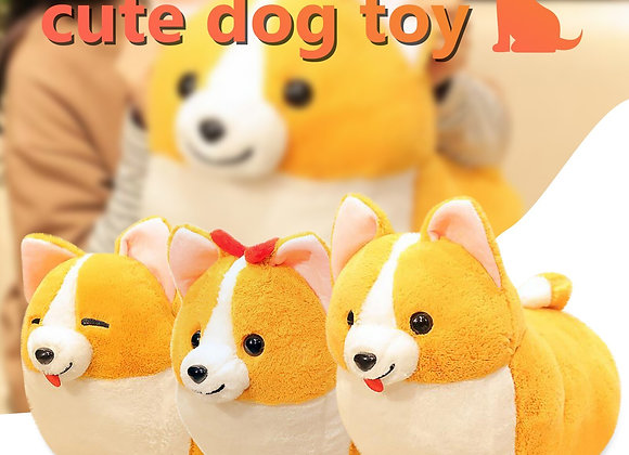 Cute Welsh Corgi Plush Toy Pillow - 3 Styles - Perfect Christmas Gift -  Kawaii