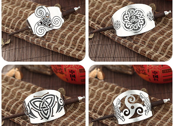 Celtic Knot Metal Hair Pin - Multiple Styles to choose from -  Hair Accessory