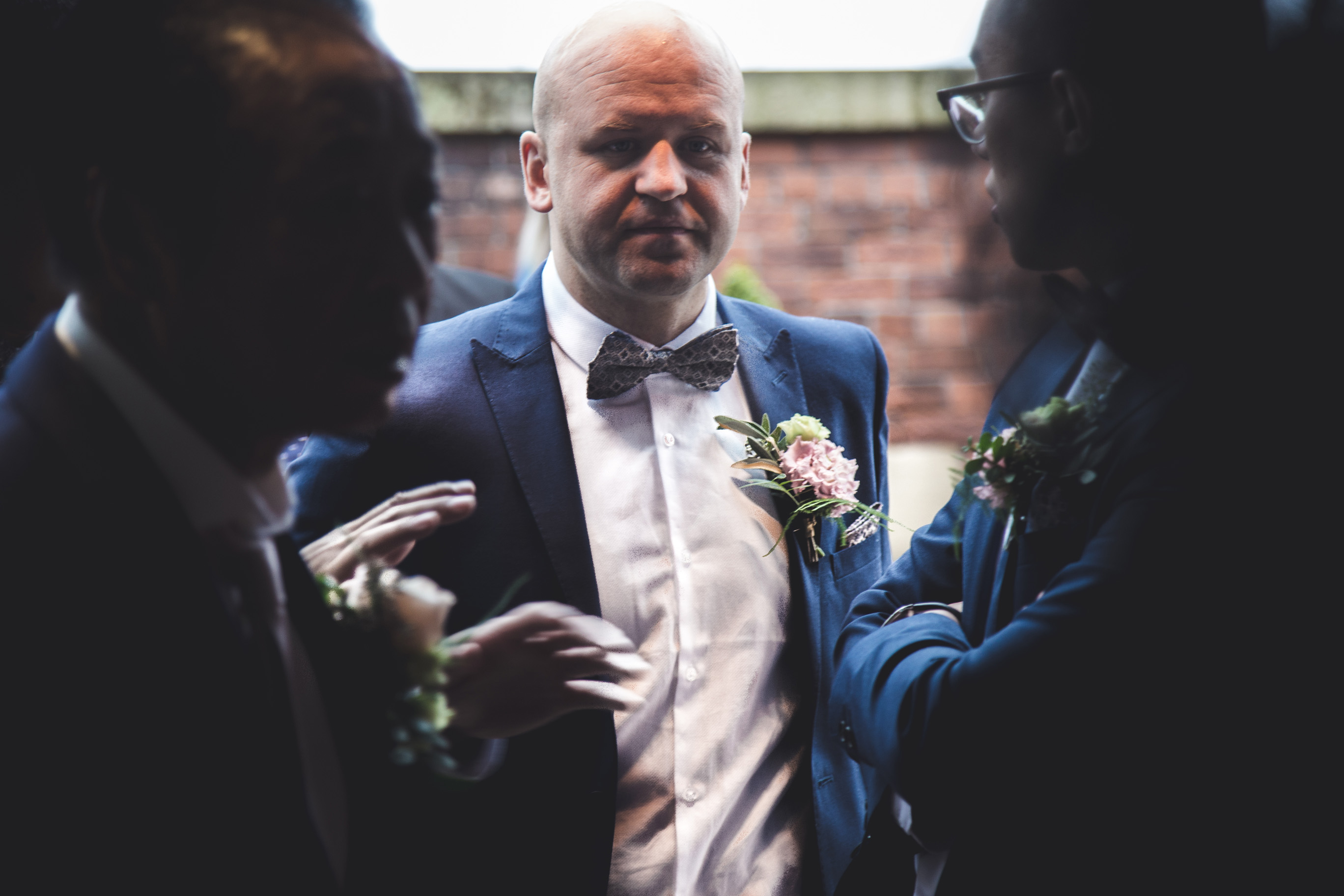 best man at the wedding