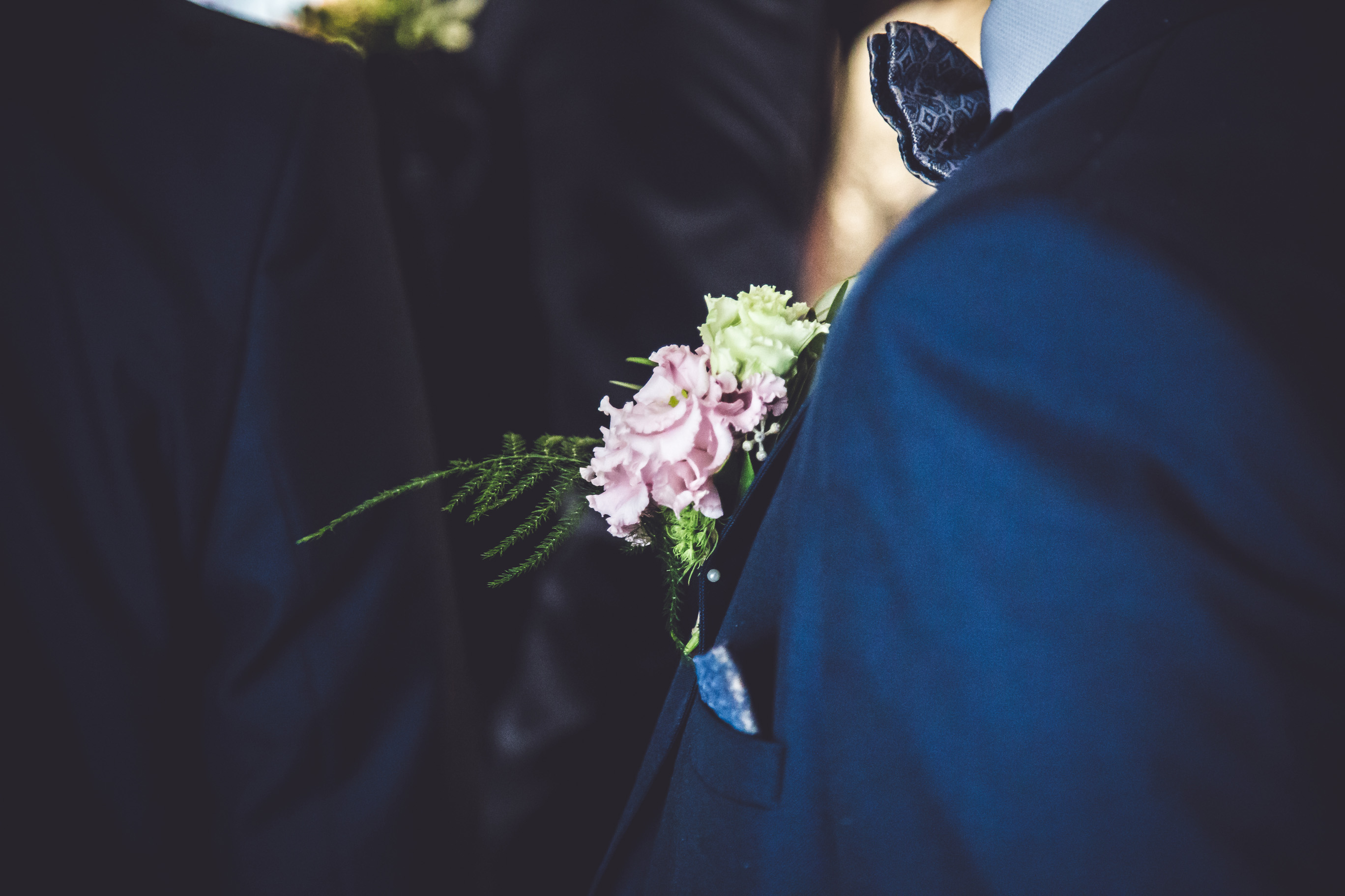 groom at the wedding