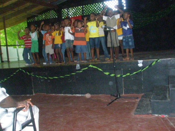 Campers performing at ILF