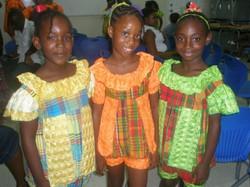 Junior dancers at NIFCA