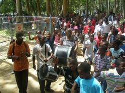 ILK Tuk Band at Camp Kuumba