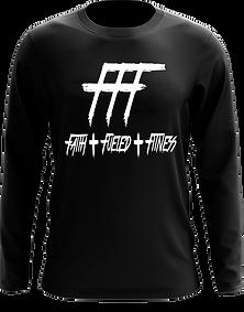FFF Black LS Tee.png