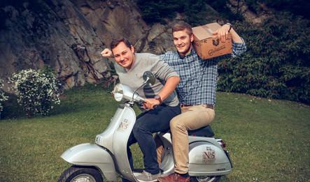 Das Team: Martin Paul (links) und Lukas Renz (rechts)