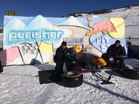 Red Bull Pit Stop Snow