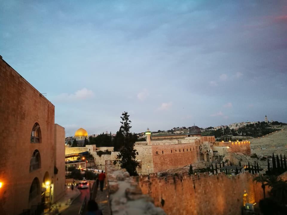 ירושלים בשקיעה