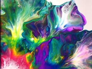 Best Paint Pour on Canvas Compilation